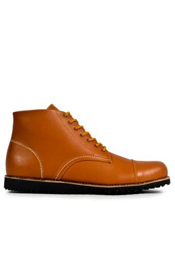 MIG brown MIG Footwear Fresco Boots Tan MI684SH30CNLID_1