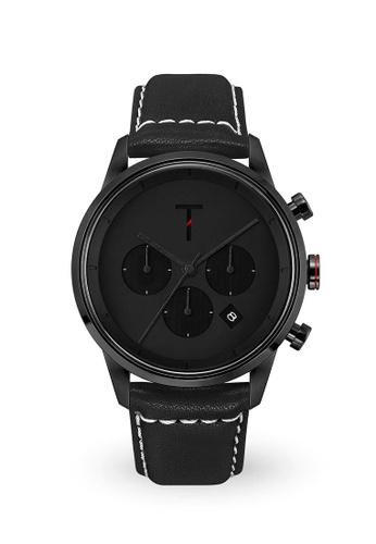 Tylor black Tribe Tlac006 Chronograph Watch TY212AC0JF6MPH_1