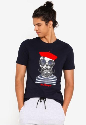 df9d47281de2 Buy Jack & Jones Boules Slim Fit Crew Neck Tee Online on ZALORA ...