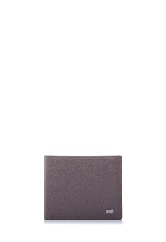 a76c0cccde712c Braun Buffel grey Klaus Flap-Up Wallet With Coin In Cement  EE646ACBB30E31GS_1