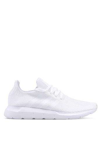 adidas white adidas Originals Swift Run Sneakers 9D346SHE7D5278GS_1
