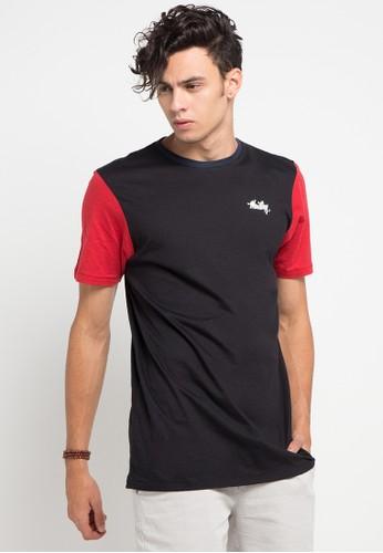 MOUTLEY black and multi Tshirt 4011 MO264AA0V6C5ID_1