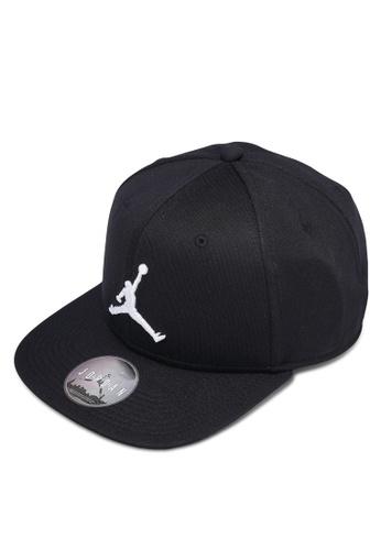 Nike black Jordan Jumpman Snapback Hat NI126AC0RMQJMY_1