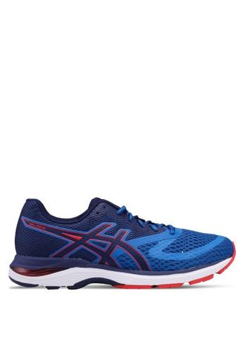 Asics blue Gel-Pulse 10 Shoes 49F86SH3626158GS_1