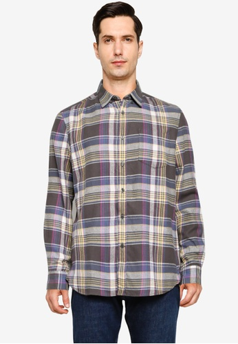 French Connection multi Assorted Checks Shirt 892B6AAA58F20BGS_1