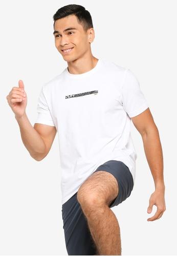 361° white Running Series Short Sleeve T-Shirt 7876CAA1FBFFEAGS_1
