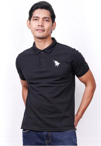 MILANO black Milano Polo Short Sleeve 4CFE8AA5059B74GS_1