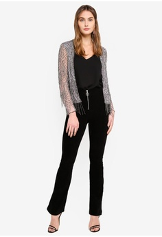 9a893a10c6ee34 60% OFF Miss Selfridge Scallop Hem Beaded Blazer S  226.00 NOW S  89.90  Sizes S M L
