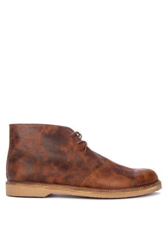 Antonio Manila brown Benedict Formal Shoes 69AA0SH1F9E937GS_1