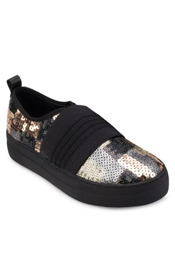 Abioye 閃飾懶人運動鞋, 女鞋, zalora是哪裡的牌子鞋