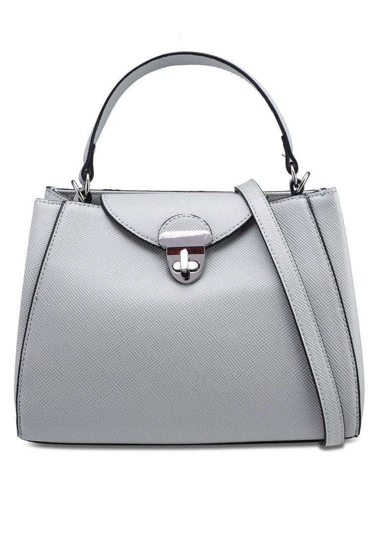 08b8214c3b Saffiano Bag Friday Mini Shopper Black Mango Turquoise r8rq6R at ...