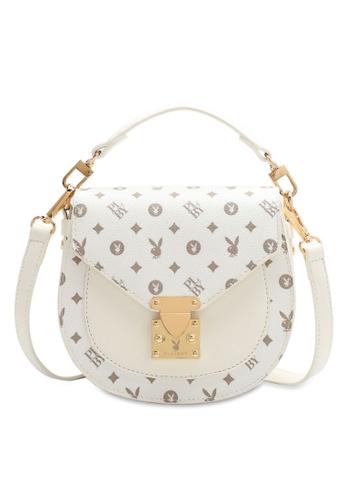 PLAYBOY BUNNY 白色 Women's Sling Bag / Shoulder Bag / Crossbody Bag DD2E3AC0004E08GS_1