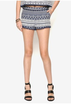 Tapered Tribal Shorts