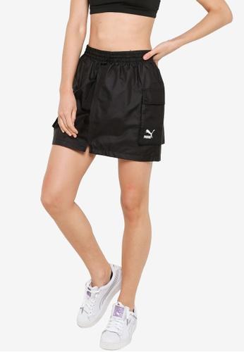 PUMA black Classics Cargo Skirt CAC57AA461B33DGS_1