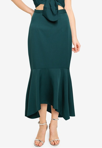 CHI CHI LONDON green Chi Chi Hariet Skirt 8DCAAAAE9968EFGS_1