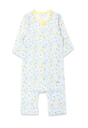 Organic mom multi Organic Cotton Christina Floral Lightweight Middle Length Sleeves Pjs 6BDB0KADBE83C4GS_1