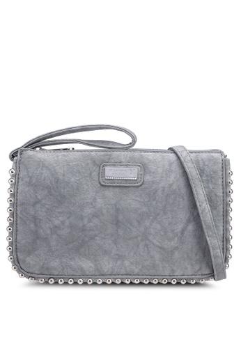 ce4f8ac1c5 Shop PLAYBOY BUNNY Studded Clutch Bag Online on ZALORA Philippines