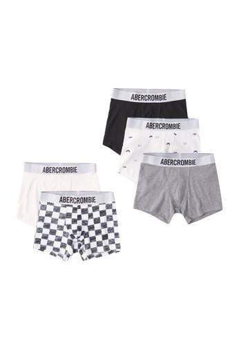Abercrombie & Fitch white Multipack Seasonal Underwear F0018KAEEE600FGS_1