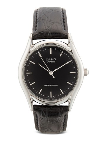 MTP-esprit童裝門市1094E-1ADF 刻度皮革圓錶, 錶類, 飾品配件