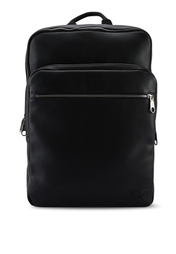 Calvin Klein black Square Backpack 45 - Calvin Klein Jeans Accessories 91E11AC04A777EGS_1