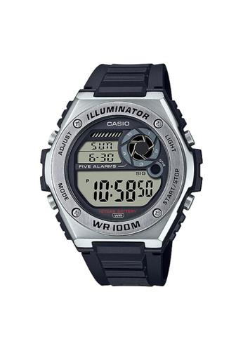 Casio black CASIO GENERAL MWD-100H-1AVDF MEN'S WATCH 18F73AC23B8425GS_1