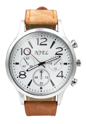 Dooka brown Niel Analog Men's Watch DO079AC33SREPH_1