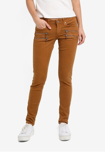Paige brown Autumn Colors Edgemont Ultra Skinny Jeans SO640AA0GOOQSG_1