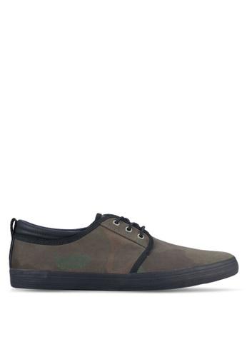 Call It Spring green Etedia Derby Shoes CA512SH0RLFXMY_1