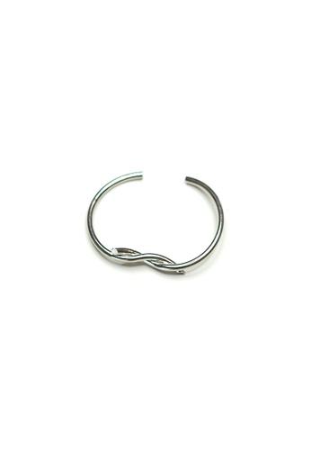 ACEXSPADE silver Entangled Bracelet 5D6C7ACF334B5AGS_1