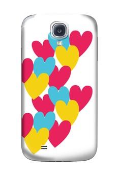 Hearts Glossy Hard Case for Samsung Galaxy S4