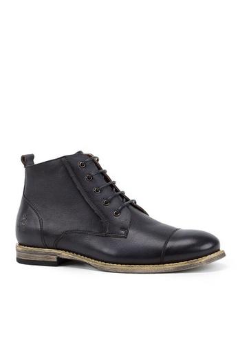 Twenty Eight Shoes 真皮復古英倫短靴0122 2F975SH7DD25C0GS_1