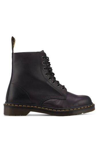 Dr. Martens brown Core Originals Pascal 8 Eye Boots DR086SH0SX5PMY_1