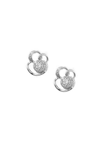 GOLDHEART gold GOLDHEART Earrings, Diamond White Gold 750 (PD17151E) 9A563ACC8DE0FEGS_1