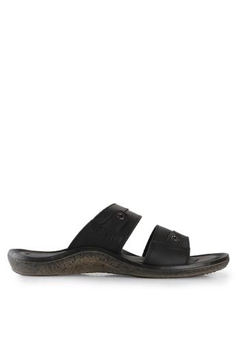 Watchout! Shoes black Slip On Sandals WA021SH13JOKID_1