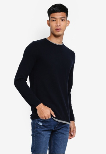 OVS navy Trend Knitwear EBF1EAA5A389A5GS_1