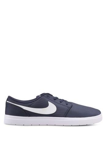 Nike blue and navy Men's Nike SB Portmore II Ultralight Skateboarding Shoes NI126SH0STR1MY_1