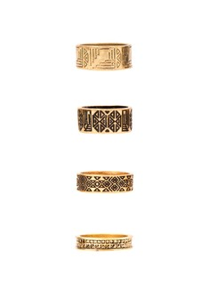 Lady Godiva Ring Set