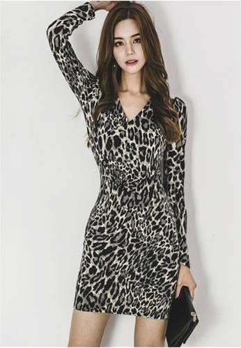 Buy Crystal Korea Fashion Autumn And Winter New Long Sleeved V Neck