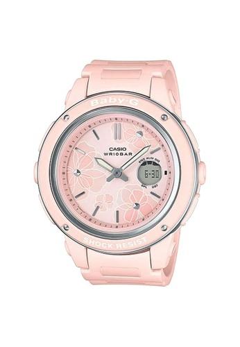 Baby-G pink CASIO BABY-G BGA-150FL-4A DFB0FAC26473B9GS_1