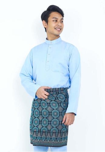 STARVILION blue Dominique Baju Melayu 8725BAAC5C5D10GS_1