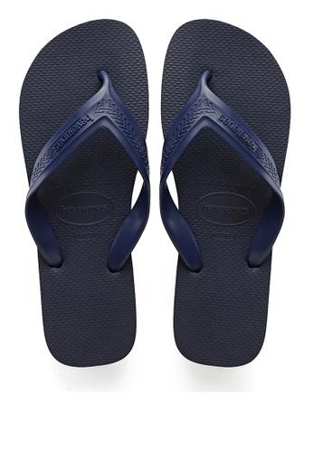 Havaianas navy TOP MAX Sandals & Flip Flops B4DC5SH8EA81E6GS_1