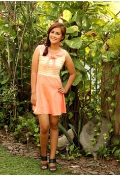 Mavi Orange Sailor Dress