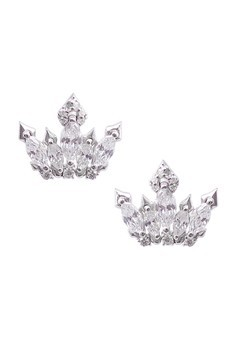 Diadem Silver Earrings