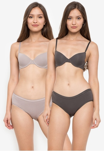 BENCH brown 2-in-1 Push-Up Bra 96640US5CAC61DGS_1