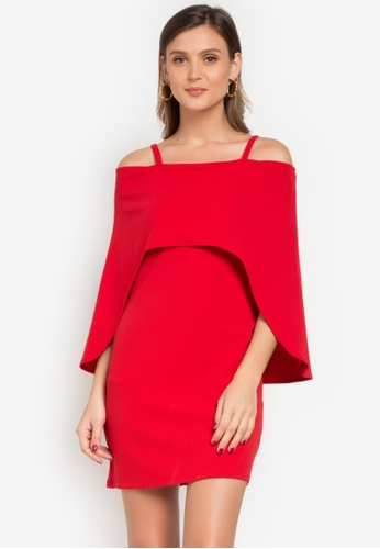Huxley red Haychel Dress HU539AA0KB5IPH_1