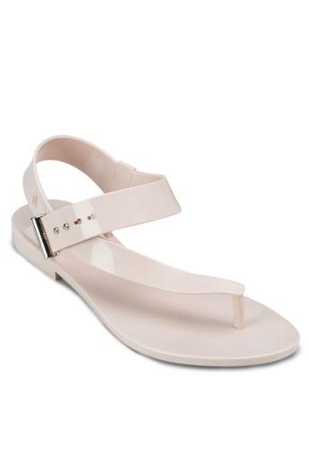 Charlotteesprit hong kong 分店 + Jason Wu 設計感平底涼鞋, 女鞋, 涼鞋
