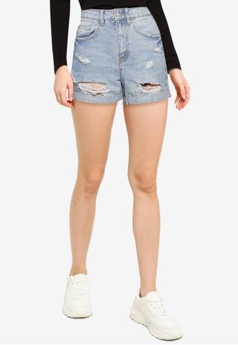 Supre blue The Palm Beach Mom Shorts 86D0CAAC0356E8GS_1