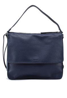 02b840651ade ESPRIT navy Faux Leather Shoulder Bag 1C95BAC139F922GS 1