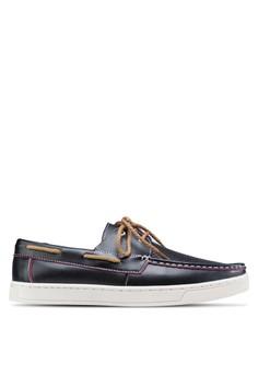 透氣孔船型鞋