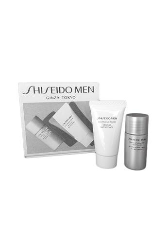 Shiseido grey Men Skin Revitalizer Set LF 0EB6ABEDAD5241GS_1